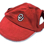 View Image 1 of Oklahoma Sooners Dog Hat