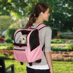 View Image 1 of On-The-Go Rolling Backpack Pet Carrier - Pink