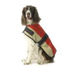View Image 1 of Outback Dog Coat - Red & Tan