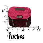 View Image 2 of Outward Hound Quick Access Dog Treat Bag - Pink