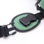 View Image 4 of Outward Hound Quick Release Dog Backpack - Green