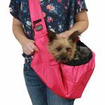 View Image 6 of Outward Hound Sling Pet Carrier - Pink
