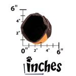 View Image 2 of Outward Hound Treat 'N Ball Bag - Orange and Black