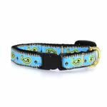 View Image 2 of Paisley Cat Collar by Up Country - Blue