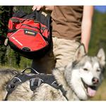 View Image 3 of Palisades Backcountry Dog Pack by RuffWear - Red Currant