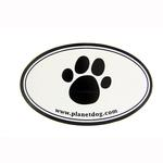 Paw Print Euro Sticker by Planet Dog
