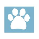 View Image 3 of Paw Shaped Car Window Decal