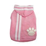 View Image 1 of Pawdidas Dog Hoodie - Pink