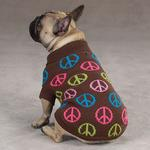 View Image 4 of Peace Sign Sweater