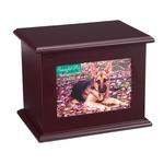 View Image 1 of Peaceful Pet Memorial Mahogany Keepsake Chest