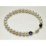 View Image 1 of Pearl Pet Necklace Collar: The Madonna
