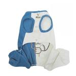 View Image 2 of Peek-a-Boo Teddy Bear Dog Jumpsuit by Klippo