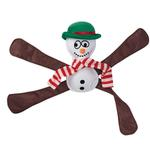 View Image 1 of Pentapulls Dog Toy - Holiday Snowman