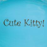 View Image 2 of Pet Studio Cutie Paw Pet Dishes - Blue