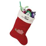 View Image 1 of Pet Studio Naughty / Nice Pet Christmas Stocking - Mouse