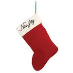View Image 2 of Pet Studio Naughty / Nice Pet Christmas Stocking - Mouse