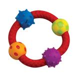 View Image 1 of Petstages Multi-Texture Chew Ring Dog Toy