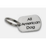 View Image 1 of Pewter Dog Collar Charm: All American Dog