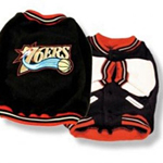 View Image 1 of Philadelphia 76ers Fleece Dog Jacket
