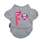 View Image 1 of Philadelphia Phillies Dog T-Shirt