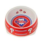 View Image 1 of Philadelphia Phillies Plastic Dog Bowl