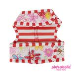 View Image 2 of Picnic Pinka Dog Harness by Pinkaholic - Red