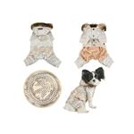 View Image 2 of Pilot Winter Jumpsuit by Puppia - Gold