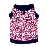 Pink Leopard Dog Tank by Doggie Design