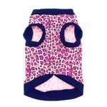 View Image 2 of Pink Leopard Dog Tank by Doggie Design
