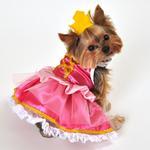 View Image 1 of Pink Princess Halloween Dog Costume