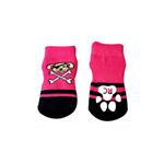 View Image 2 of Pirate Girl PAWks Dog Socks