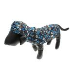 View Image 4 of Pitter Patter Packable Dog Rain Poncho - Chocolate