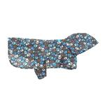 Pitter Patter Packable Dog Rain Poncho - Chocolate