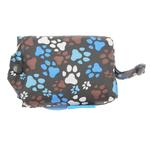 View Image 2 of Pitter Patter Packable Dog Rain Poncho - Chocolate