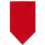View Image 1 of Plain Dog Bandana - Red