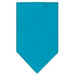 View Image 1 of Plain Dog Bandana - Turquoise