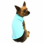 View Image 1 of Plain Dog Shirt - Aqua