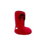 View Image 1 of Plush Smelly Wellie Boot Dog Toy - Red