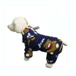 View Image 1 of Plush Teddy Bear Fleece Dog Pajamas by Klippo