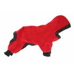 View Image 1 of Polarctic Fleece Jumpsuit - Red