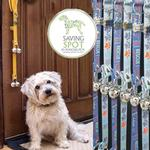 View Image 1 of Poochie Bells Dog Doorbell - Saving Spot Collection