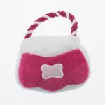 View Image 1 of Poochie Purse Rope Dog Toy