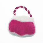 View Image 2 of Poochie Purse Rope Dog Toy