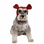 View Image 1 of Poofy Dog Snood by Puppia - Wine