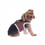 Power Reversible Dog Harness - Brown & Berber Fleece