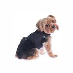 View Image 3 of Power Reversible Dog Harness - Denim & Suede