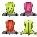 View Image 3 of Precision Sport Mesh Dog Harness - Hot Pink