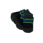 View Image 1 of Preppy Stripes Soxy Paws Dog Socks