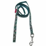 View Image 2 of Primavera Dog Leash by Pinkaholic - Aqua