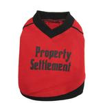 View Image 1 of Property Settlement Dog T-Shirt